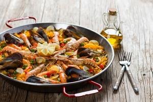 buffet paella